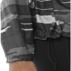 asics fuzeX Packable Giacca da corsa Donna grigio/nero